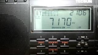 TECSUN PL-660 rádio escuta em HF 40 metros