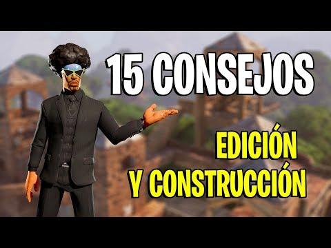 15 CONSEJOS para MEJORAR en FORTNITE - EDICIÓN Y CONSTRUCCIÓN