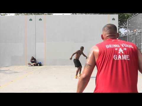 Cisco vs Gio - King of the Courts Handball 2013 |