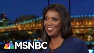 NY AG Letitia James Undaunted By Trump Frenzy To Keep Finances Hidden | Rachel Maddow | MSNBC