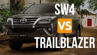 Chevrolet TrailBlazer VS Toyota SW4
