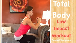 20- Minute Total Body Workout: Quiet, Apartment Friendly, Low Impact Exercises