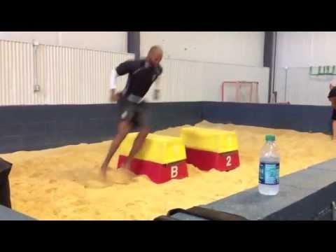 NFL WR Michael Jenkins Titin Training
