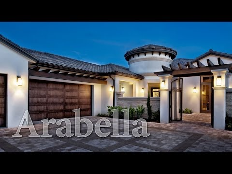 Arabella, an Old World Tuscan Styled Home