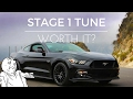 Ford Performance Stage 1 Tune for Mustang GT Worth it?