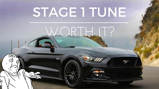 ford performance stage 1 tune for mustang gt worth it