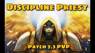 Discipline Priest WOW Legion 7.3 PVP Battleground