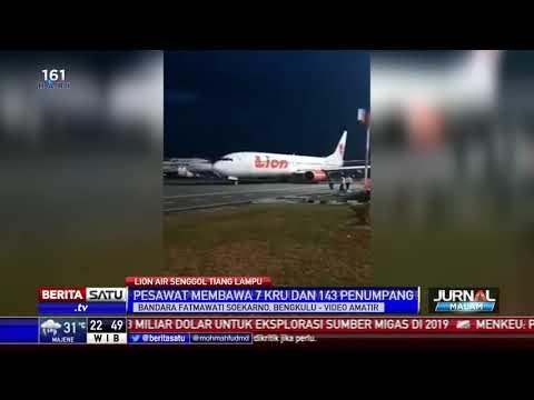 Sayap Pesawat Senggol Tiang, Penerbangan Lion Air JT-633 Tertunda Mp3