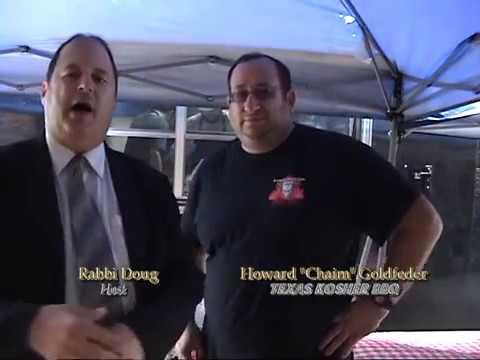 Texas Kosher BBQ in Chicgaoland on TAPED WITH RABBI DOUG