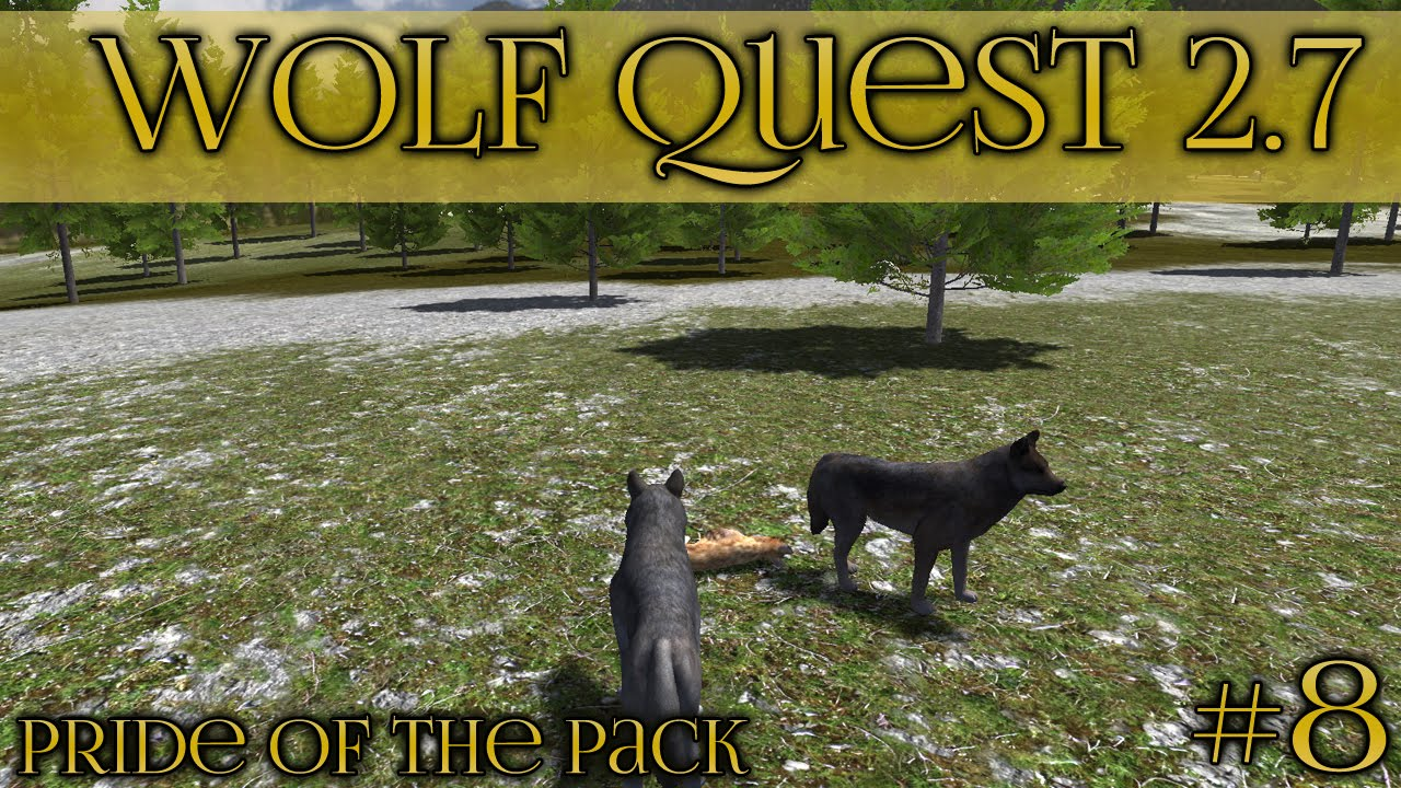 Download Fields of Coyotes!! 🐺 Wolf Quest 2.7 - Pride of the Pack 🐺 Episode #8