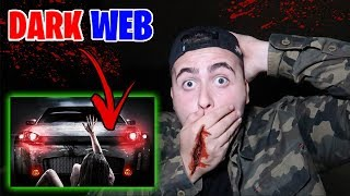 I RENTED A CAR OFF THE DARK WEB AND SOMETHING *SCARY* HAPPENED!!