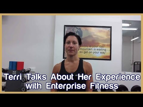 Terri Batsakis and her experience at the Enterprise Fitness Internship
