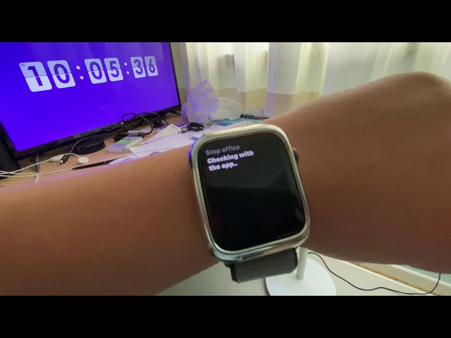 Apple Watch Series 5 controlling Xiaomi devices via Siri and Shortcuts
