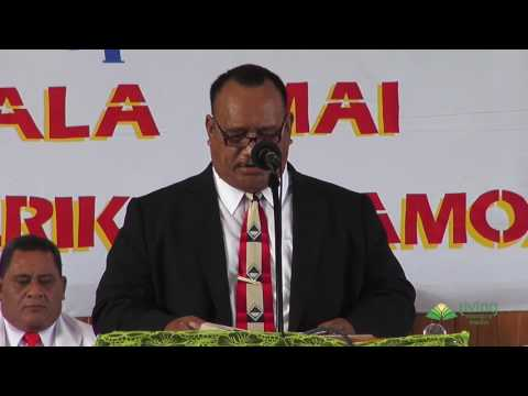 Wake Up American Samoa | Pr Pau Tuavela | Program #13 Baptism