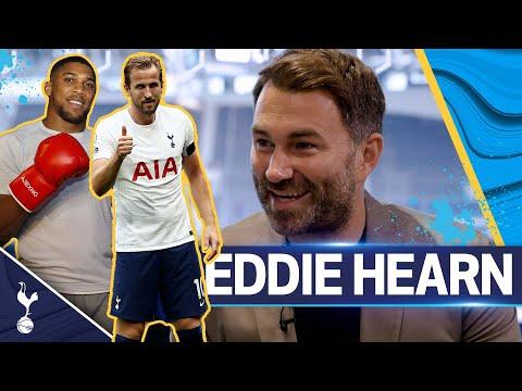 """We didn't really rate him!"" 😳 Eddie Hearn on Harry Kane, AJ as a footballer & favourite Spurs era!"