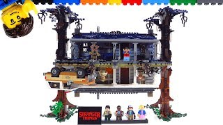 Baixar LEGO Stranger Things detailed close-up review! The Upside Down 75810