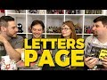 Comic Care Packages - Letters Page
