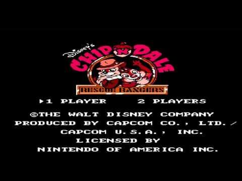Музыка из игры Чип и Дейл (последний уровень) DENDY