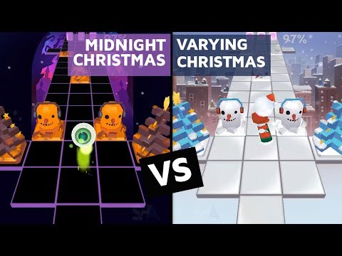 Rolling Sky - Midnight Christmas Vs Varying Christmas (ReSkinned Version) | SHA
