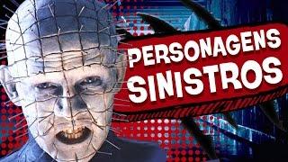 5 PERSONAGENS MAIS ASSUSTADORES DO CINEMA! (feat. Milho Wonka)