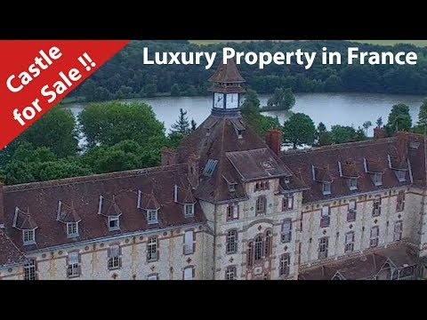 Castle for sale in France.Luxury Property in the Loire Valley !