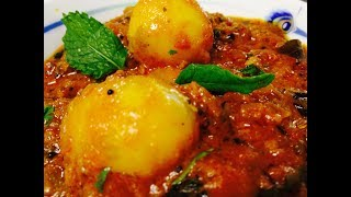 Dum Aloo Recipe in Hindi Restaurant Style | How to make Dum Aloo | Kashmiri Dum Aloo recipe | F3