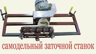 Самодельный заточной станок. Homemade grinding machine