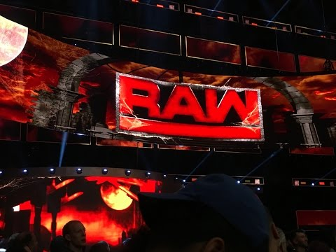 WWE RAW experience on 10/31/16! FRONT ROW! (Sorry it's so late!)