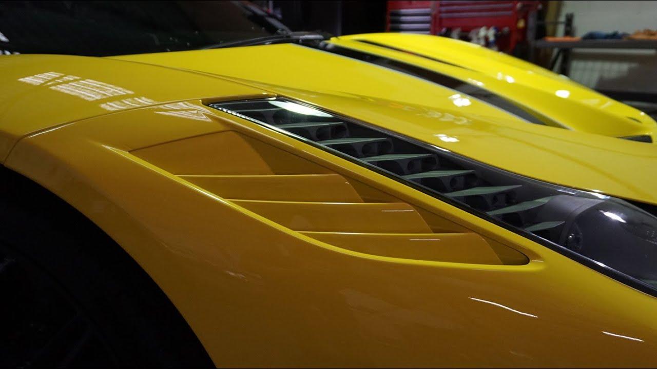 Ferrari Black Light Wet Mirror Finish For TopGear Live Perth