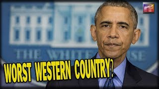 Dems Say America Is The Worst Western Country For ONE SICK THING, then they get schooled