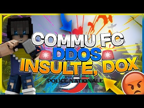 PARLONS DE LA COMMU MINECRAFT - DDOS-DOX-RAT-HACK-SWAT