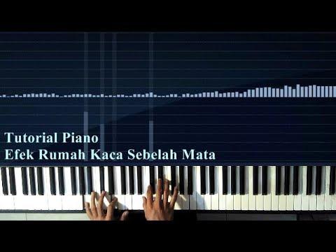 Tutorial Piano Efek Rumah Kaca - Sebelah Mata