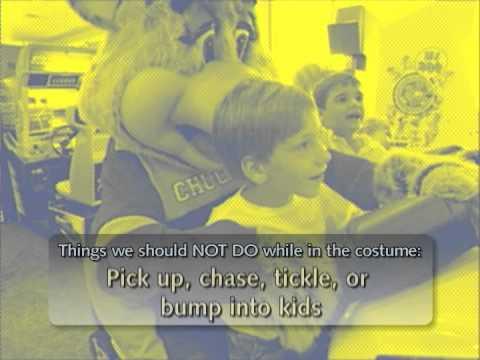 Chuck E Cheese Character Training 11/07