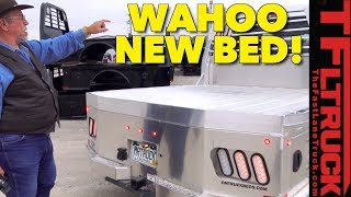 You Gotta See Mr.Truck's New Aluminum CM Truck Bed!