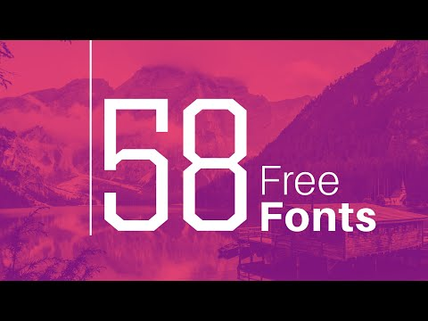FREE FONTS For Your Design Portfolio In 2021