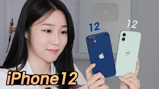 Everything about iPhone12! iPhone 12 Blue & Green