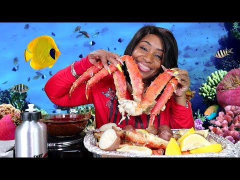 Seafood Boil 21, King Crab Legs, Tiger Shrimp, Lobster, Scallops, and more