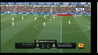 Real Madrid Vs huesca la liga match highlights...