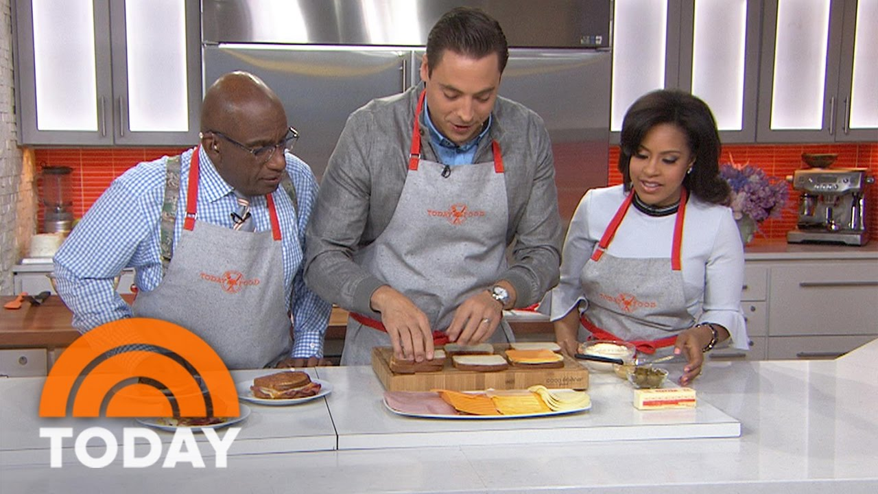 The Kitchen Jeff Mauro perfect grilled cheese: 'sandwich king' jeff mauro reveals secrets