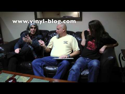 Voivod interview at Fox Theater in Oakland, CA (Nov-17-2012)