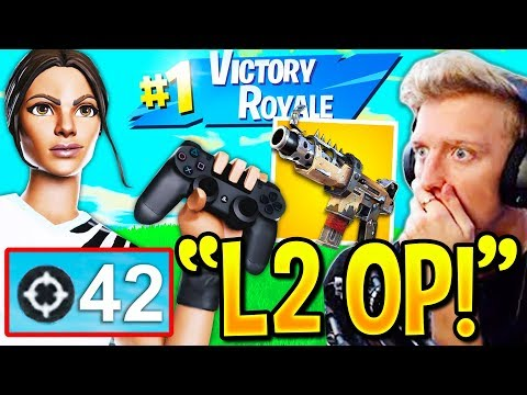 Pro CONTROLLER *WORLD RECORD* 42 KILLS Using *UPDATED* AIM ASSIST!