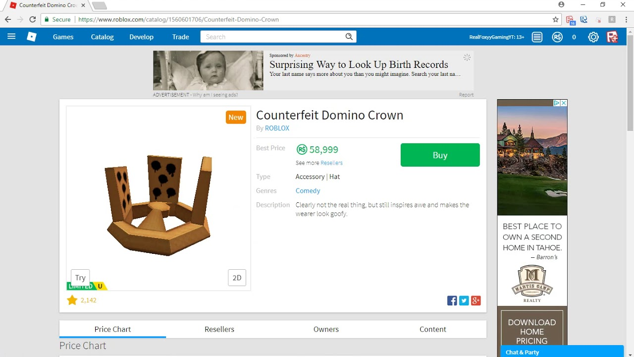 Omg They Added A New Roblox Domino Crown Youtube