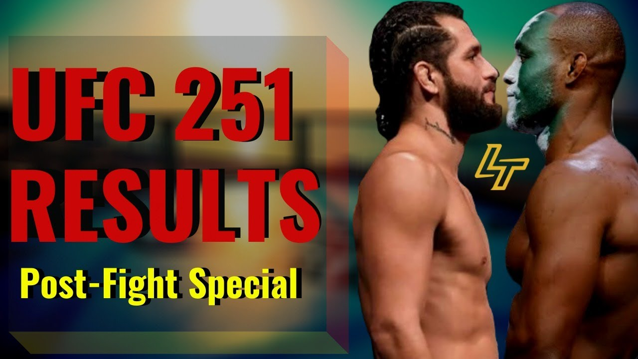 UFC 251 Results: Jorge Masvidal vs. Kamaru Usman | Post-Fight Special | Luke Thomas