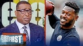 Cris Carter lists the best destinations available for Antonio BrownNFLFIRST THINGS FIRST