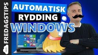 Hvordan få Lagringssensor i Windows 10 til å automatisk rydde diskplass thumbnail