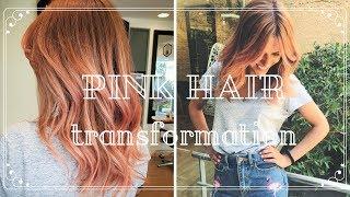 VLOG:| Pink Hair Transformation! (My Pink Flamingo Edition) Mp3