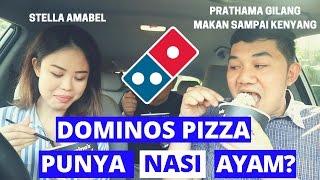 Video Chicken & Rice dan Stuffed Crust pedes Domino's Pizza Indonesia | Makansampaikenyang & Stella Amabel download MP3, 3GP, MP4, WEBM, AVI, FLV Oktober 2018