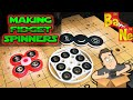 Custom Fidget Spinners Created With Carvey 3D Carving Machine