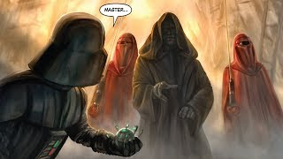 The first time Darth Vader failed Palpatine and how he was Punished [Legends]