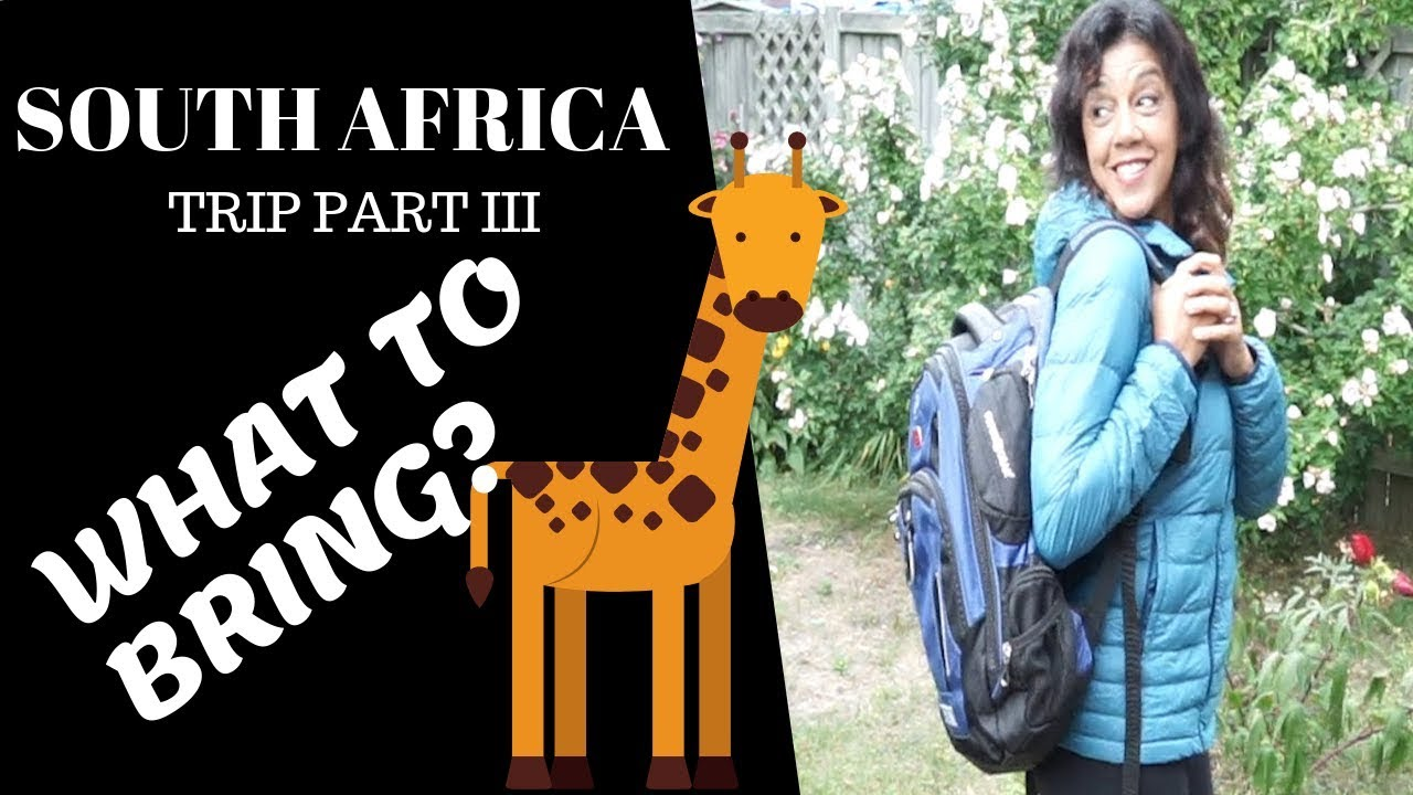 What To Bring For South Africa Safari Trip